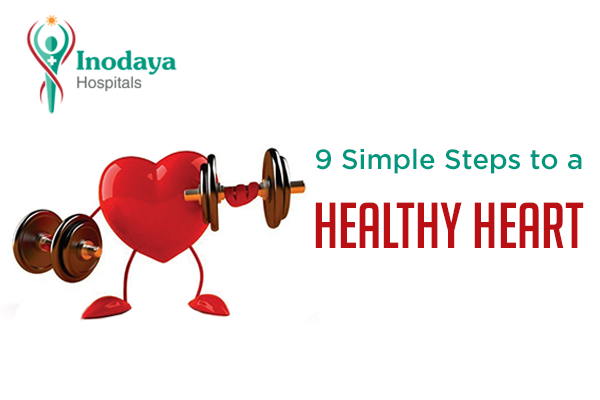 9 steps for a healthy heart